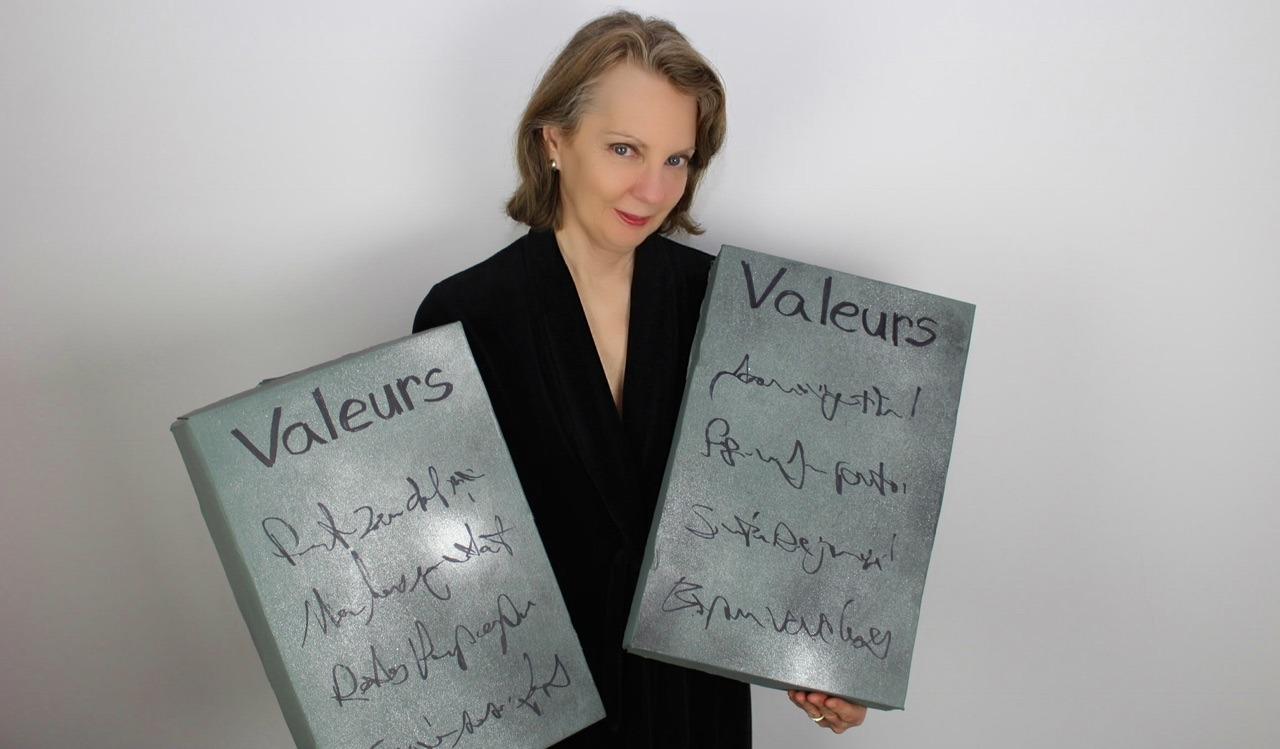 définissez vos valeurs